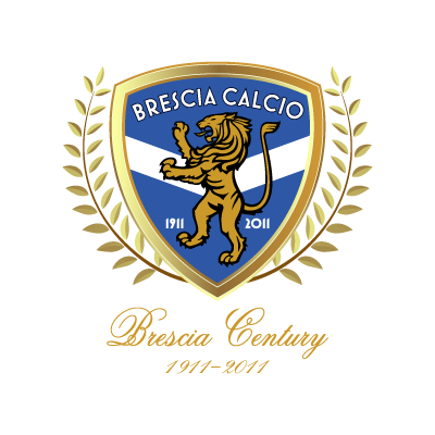 Vector logo Download Brescia Calcio (100 Years) logo vector
