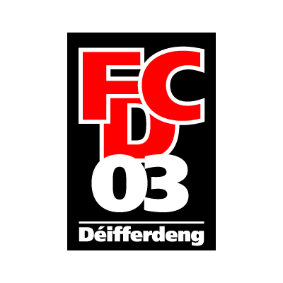 Vector logo Logo FC Differdange 03 vector download