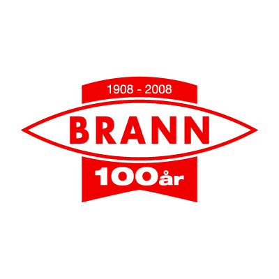 Vector logo SK Brann (100 Years) vector logo