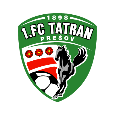 Vector logo Logo 1. FC Tatran Presov vector download
