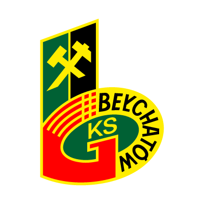 Vector logo Logo GKS Belchatow (KS) vector download