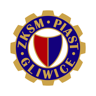 Vector logo Download ZKSM Piast Gliwice logo vector