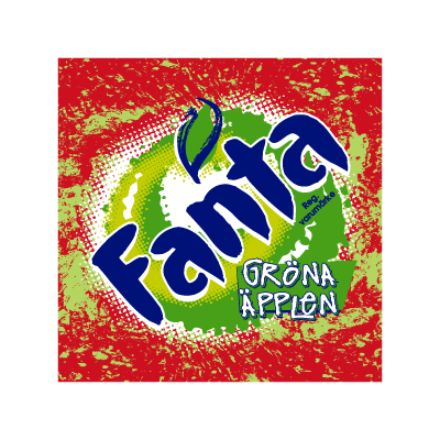 Fanta Green Apple vector logo