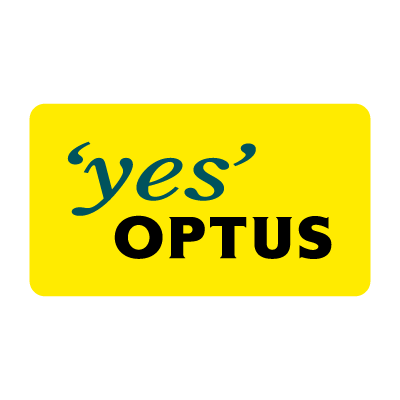 Vector logo Logo Optus company vector download