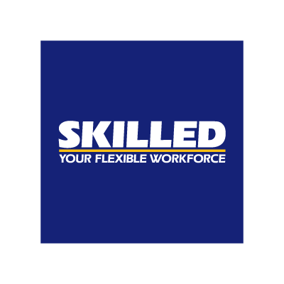 Skilled vector logo