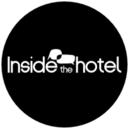 Vector logo Inside the hotel logotype