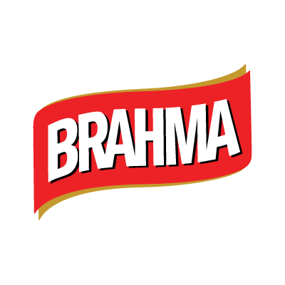 Vector logo Logo Brahma  text vector download