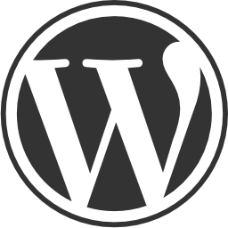 Wordpress circular website logo